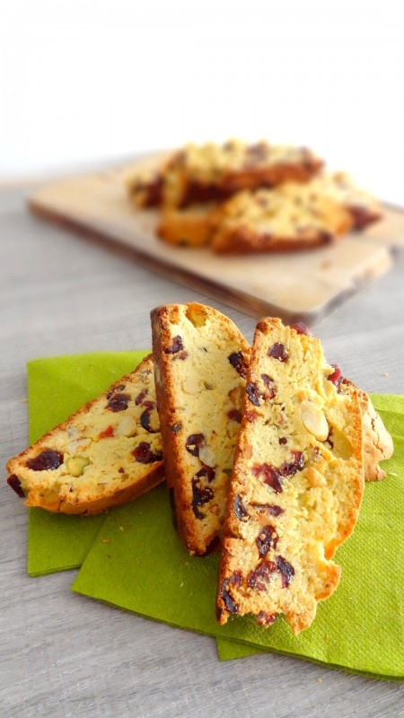 Biscotti fruits secs et canneberges