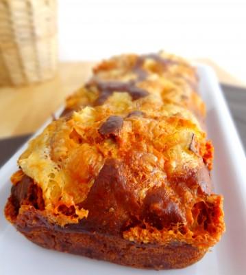 Cake pesto brie et noix