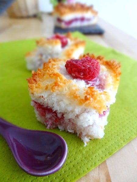 Coco cake framboise