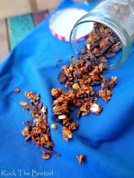Granola miel coco