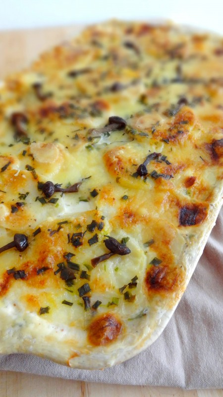 r ti de porc orloff gratin dauphinois aux champignons. Black Bedroom Furniture Sets. Home Design Ideas