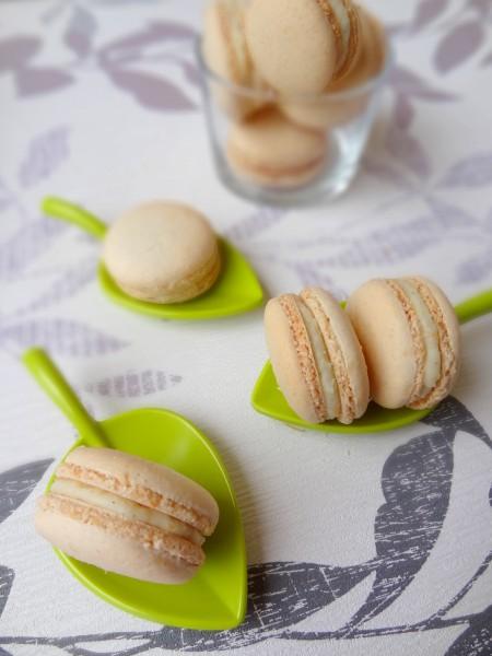 Macarons coco chocolat blanc