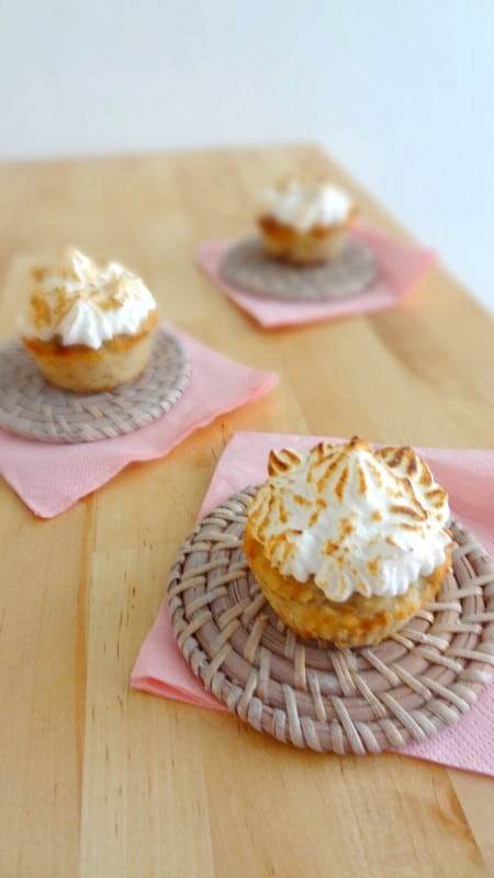 Muffins banane coco sans gluten