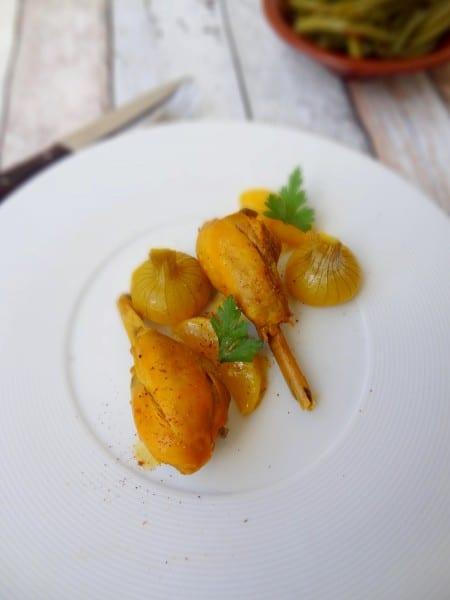 Tajine de poulet aux poires