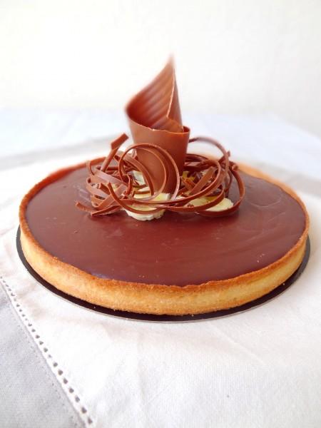 Tarte Au Chocolat Et Banane Cap Patisserie