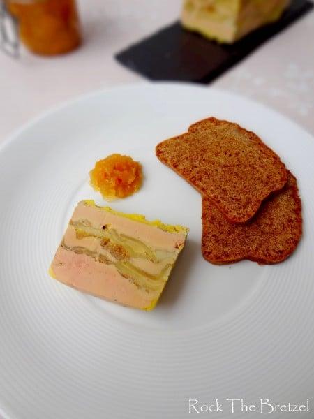 Foie gras aux pommes