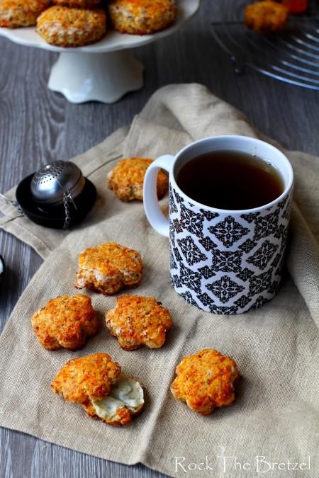 Mini scones abricot noix de coco