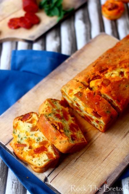 Cake chorizo abricot