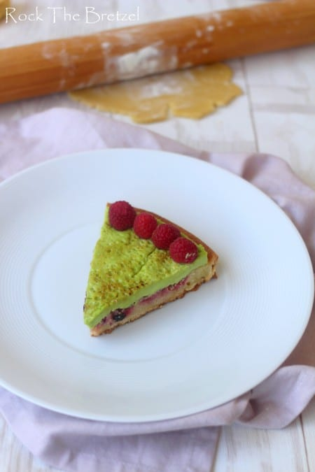 Tarte fruits rouges pistache (68)