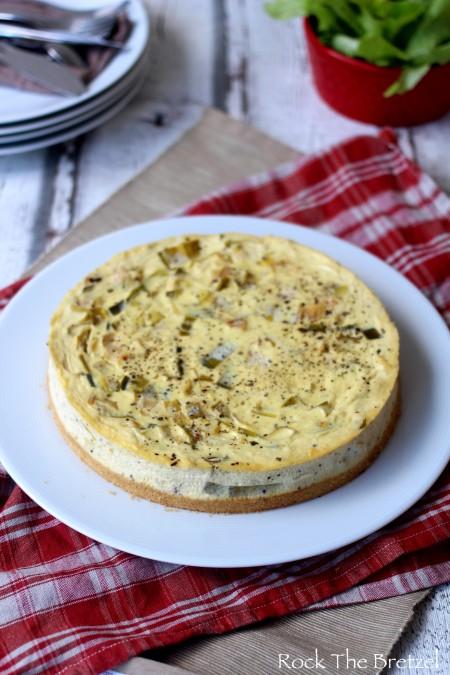Cheesecake poireaux
