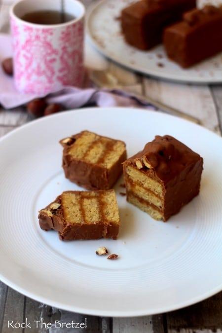 Moelleux noisettes caramel93
