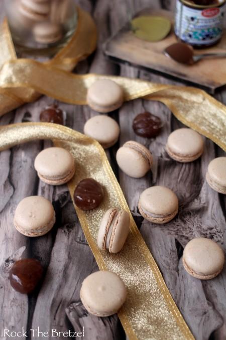 Macarons marrons36