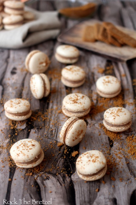 Macarons speculoos27