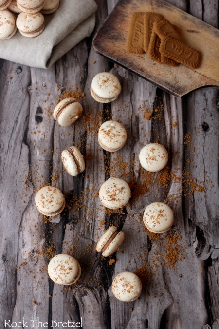 Macarons speculoos30