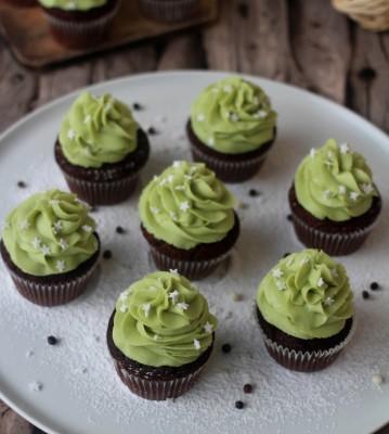 Cupcake chocolat pistache41