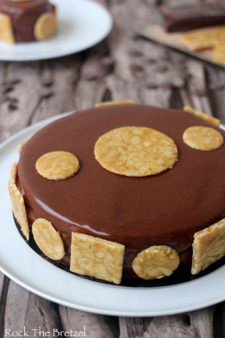 Entremet chocolat caramel24
