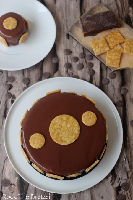 Entremet chocolat caramel34