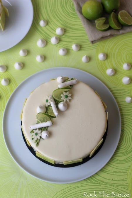 entremets citron vert et coco insert la framboise. Black Bedroom Furniture Sets. Home Design Ideas
