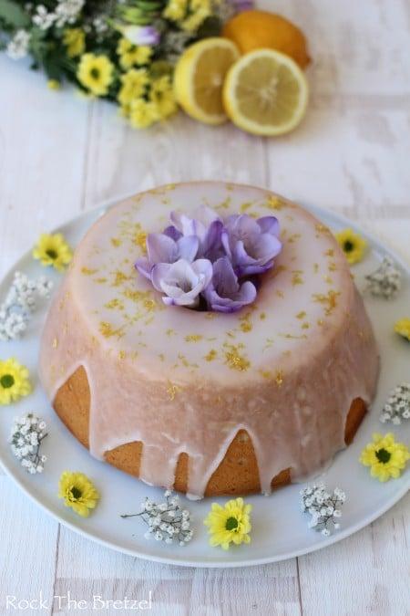 Angel cake fleur d'oranger