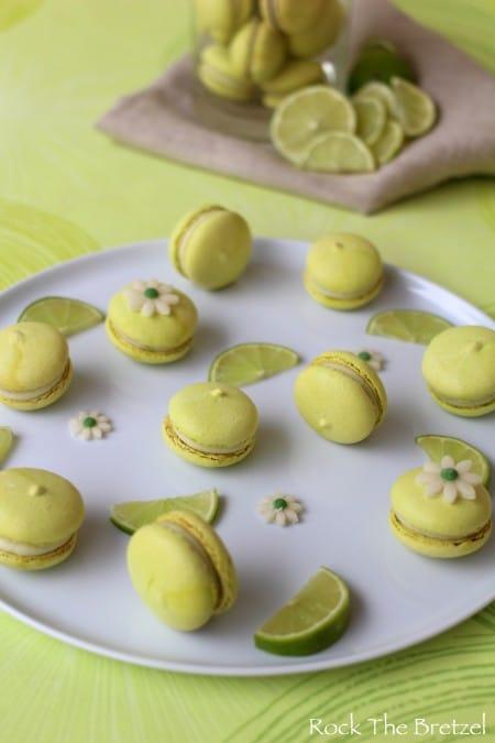Macarons citron vert19