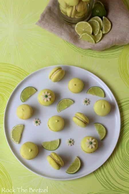 Macarons citron vert38