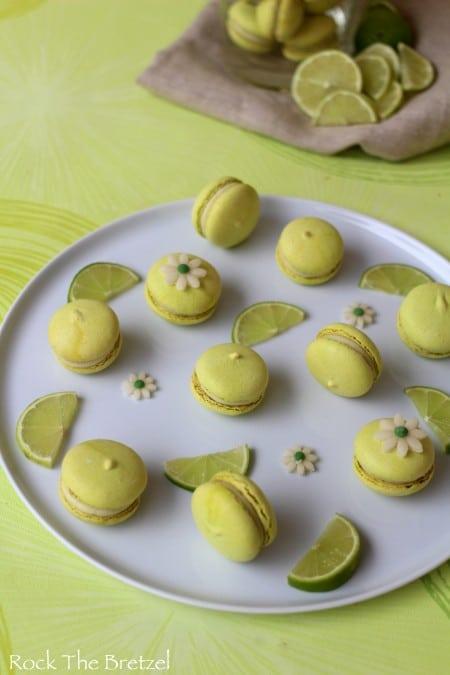 Macarons citron vert57