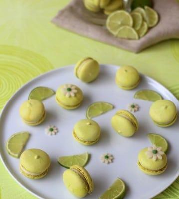 Macarons citron vert6
