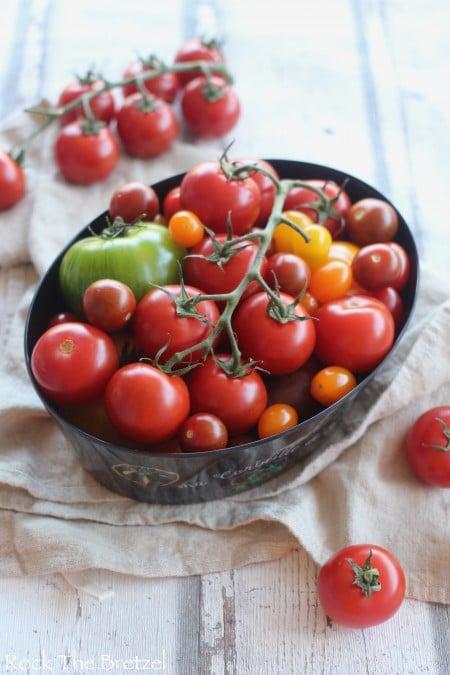 Tarte aux tomates colorées24