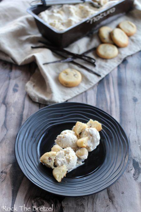 Crème glacée aux cookies57