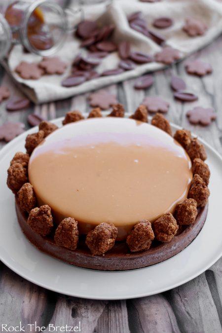 Tarte chocolat caramel22