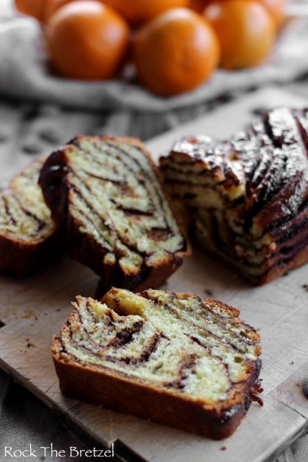 Babka chocolat orange125