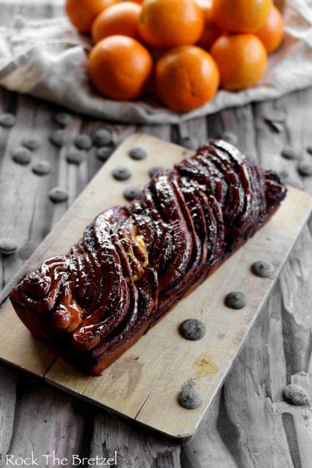 Babka chocolat orange2