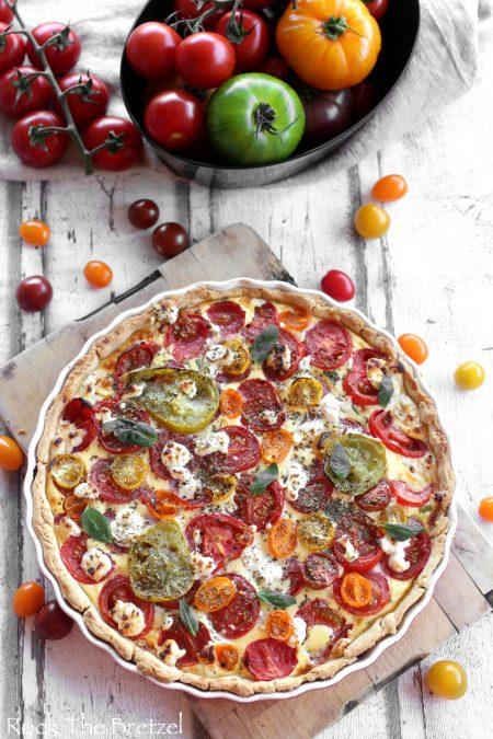 Tarte aux tomates colorees58