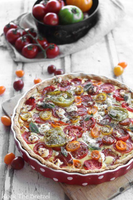 Tarte aux tomates colorees64