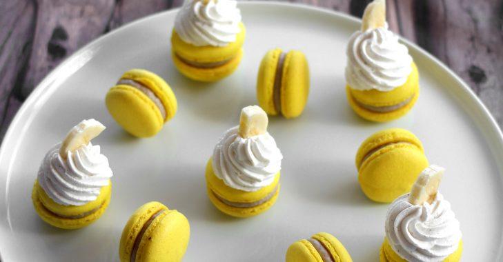 Macarons à la banane façon Cupcake (partenariat KitchenAid)