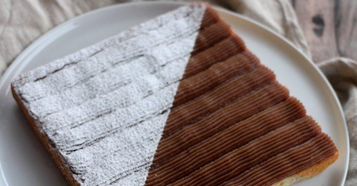 Cake comme un Mont-Blanc (C. Michalak)
