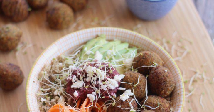 Buddah bowl aux falafels