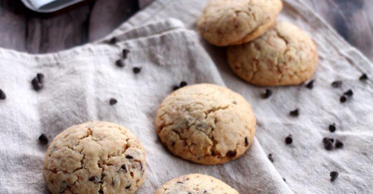 Cookies détonnants fourrés à la pâte à tartiner