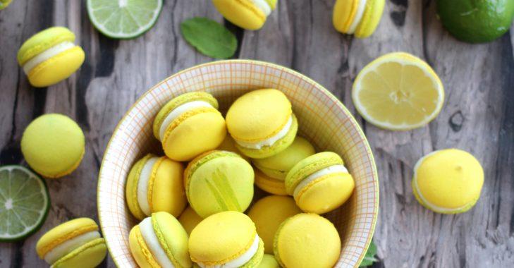 Macarons façon mojito pour les défis gourmands de Cuisine Addict