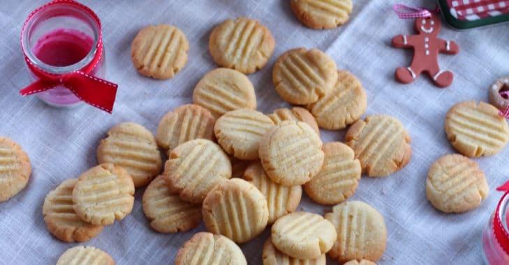 Bredele 2017 : Lemon crumble Biscuits