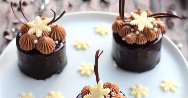 Royal Poire-chocolat façon Poire Belle Hélène et Bonne année 2018