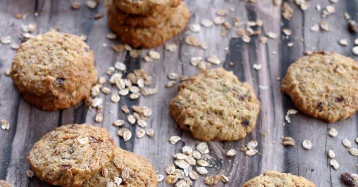 Cookies au muesli noisette