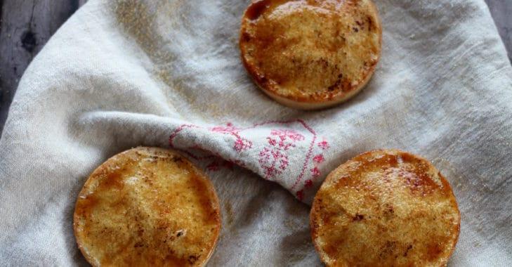 Tartelettes chiboust à la myrtille