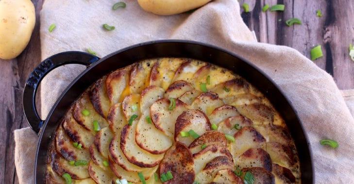 Gratin de pommes de terre au boeuf haché
