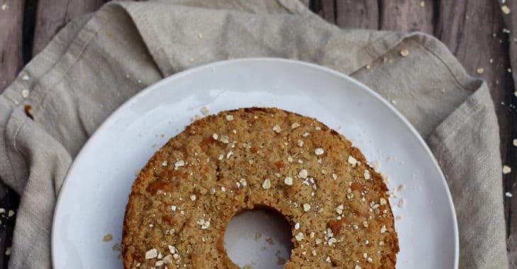 Cake moelleux aux poires, streusel croustillant