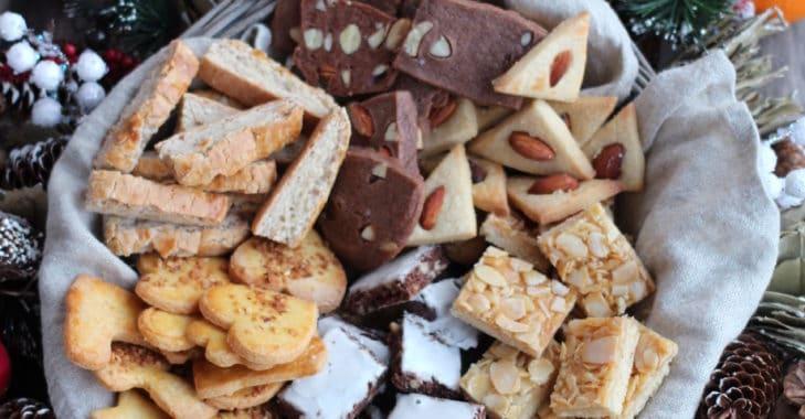 Bredeles 2019 : Friandises de l'écureuil / Bâtons au miel