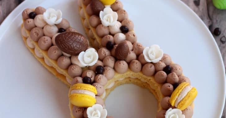 Bunny cake tout mignon pour Pâques